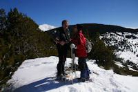 Fred et Camille au sommet du Puig d'Estaques