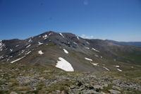 Le chemin est trace pour aller au Puigmal d'Err