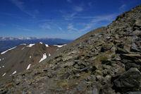 Le Puigmal de Llo et le massif du Carlit au fond