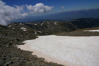 Un neve accelerateur en descendant du Puigmal d'Err