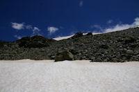 La crete Ouest du Puigmal d'Err