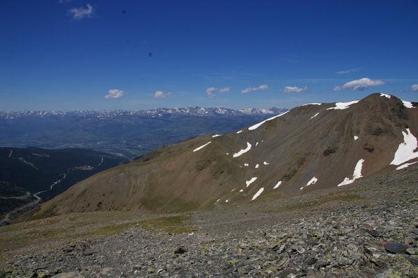 Le Puigmal de Llo, la Cerdagne et le massif du Carlit au fond