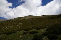 La crete frontiere entre la Tossa del Pas dels Lladres et le Puigmal d4err