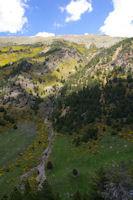 Un torrent descndant du Puig de Coma Dolca