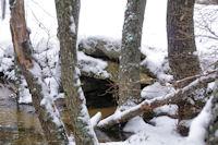 Le Pont Megalithique dans le vallon du Riu d'Eina