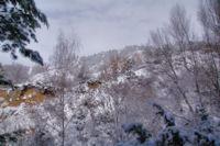 L_horizon s_élargit au dessus du Torrent dels Andius