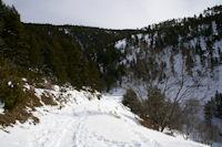 Le chemin vers Prats del Forn
