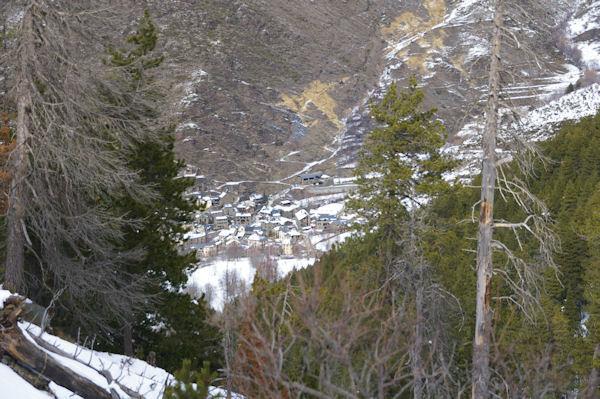Valcebollère depuis le vallon du torrent de la Peguera