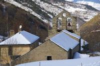 L'eglise de Valcebollere