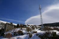 Le pylonne telecom de Valcebollere