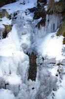 Ambiance glaciere dans les gorges du Segre