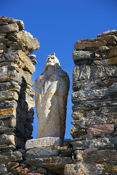 La statue de Sant Feliu