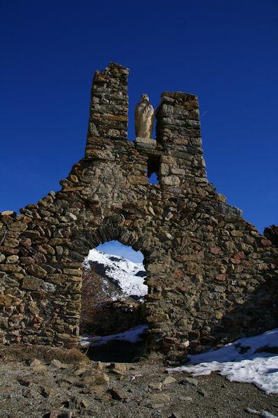 Les ruines de la chapelle Sant Feliu