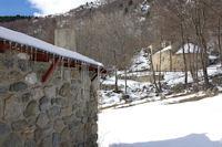 La chapelle de Sant Marti d'Envalls et un abri pastoral