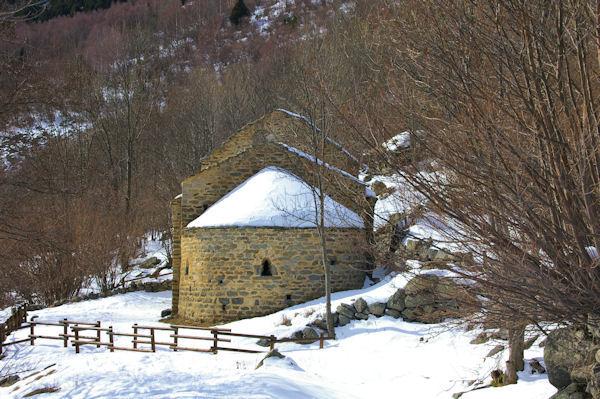 La chapelle de Sant Marti d_Envalls