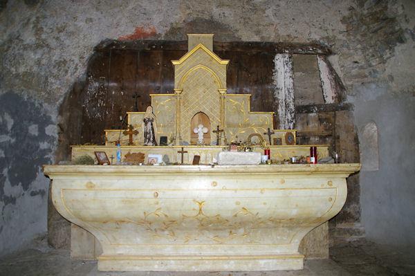 L_autel de la chapelle de Sant Marti d_Envalls