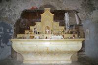 L'autel de la chapelle de Sant Marti d'Envalls