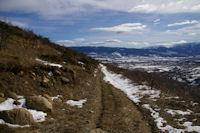 A la Serra en descendant vers Villeneuve des Escaldes