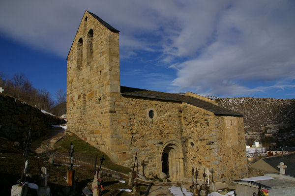 La vielle chapelle St André à Angoustrine