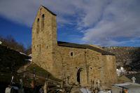 La vielle chapelle St Andre a Angoustrine