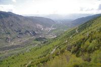 Le Sud du vallon du Riu de Querol depuis Serrat dels Camps