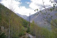 Le Nord du vallon du Riu de Querol depuis Les Devinalles