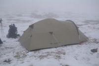 Notre campement au Pla dels Empedrats