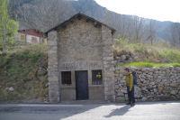 L'Oratoire St Anne sur la N20 entre Querol et Cortavassill