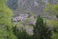 Cortvassill depuis le chemin sous Roques Encantades