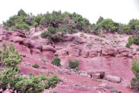Erosion dans l'Assif Tafenfent