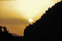 Coucher de soleil à l_Assif Tafenfent