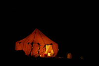 Bivouac by night