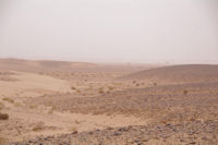 Au loin, la vallee du Draa