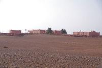 Les premieres maisons de M'Hamid