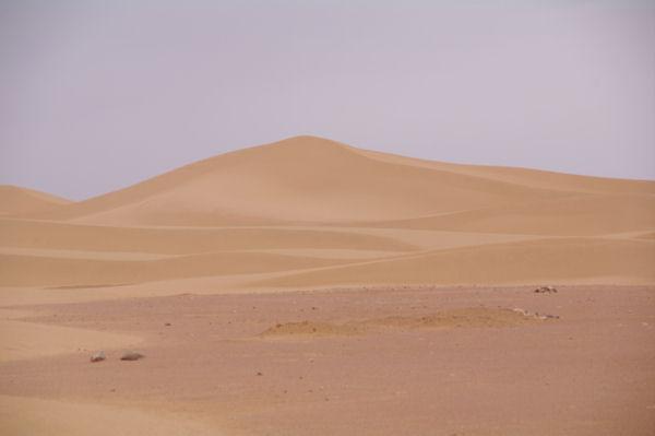 Belle dune vers l_Oued en Naam