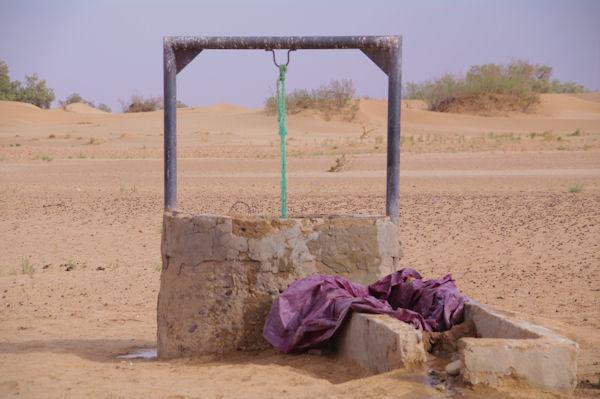 Un puit dans l_Oued en Naam