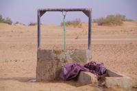 Un puit dans l'Oued en Naam