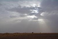 Rayon de soleil sur l'Oued en Naam