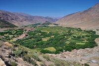 La vallée inférieure des Aït Bouguemez