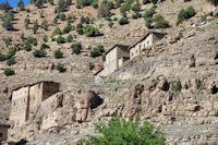 Des maisons typiques peu avant Aït Imi