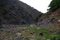 Passage rive gauche de l'Assif n'Ouarzane entre Azersfane et Ikoubline