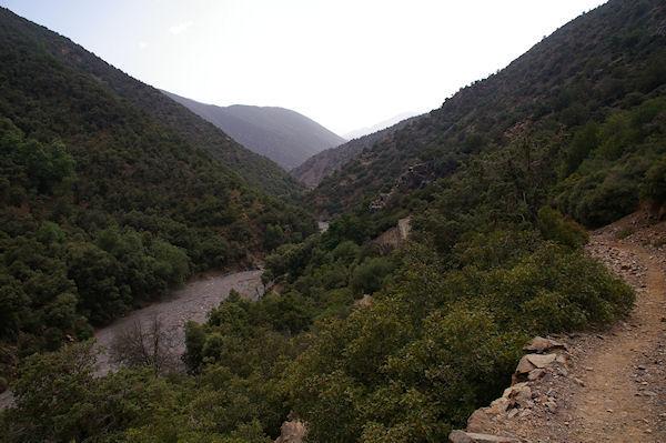 Paysages verdoyants entre Tassa Wirgane et Azersfane