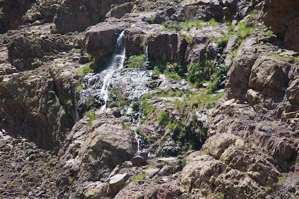 La petite cascade de Lepiney après Azib Tamsoult