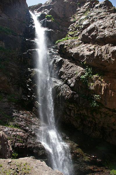 La grande cascade de Lepiney après Azib Tamsoult