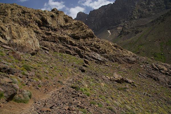 Le chemin entre la vallée d&#39Azaden et la vallée de l&#39Oued Timlilt