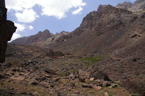 Le refuge du Toubkal