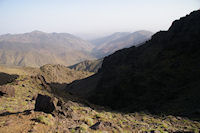La vallee d'Azaden depuis l'Oued Timlilt
