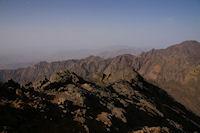 Vue Sud depuis la crete Ouest du Toubkal