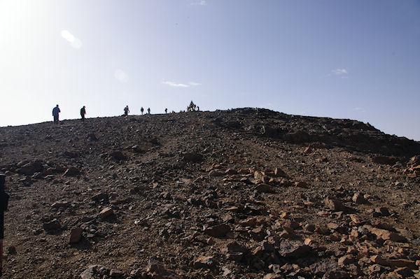 Le dôme final pour arriver au sommet du Toubkal