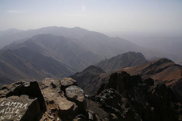Vue Est depuis le sommet du Toubkal